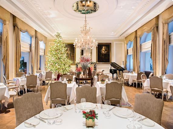 Tudor Hall Restaurant Christmas 2019